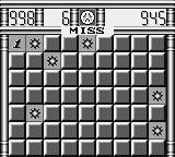 Minesweeper Game Boy Hit a bomb.