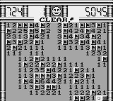 Minesweeper Game Boy All clear!