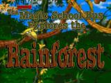 Scholastic's The Magic School Bus Explores the Rainforest Windows Title screen