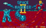 Space Harrier II Atari ST Title screen