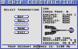 Starflight Atari ST Tricking out our vehicle