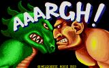 AAARGH! Atari ST Title screen