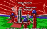 Archipelagos Atari ST Title screen