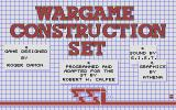 Wargame Construction Set Atari ST Title screen
