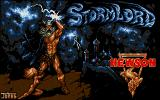 Stormlord Atari ST Title screen