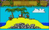 Treasure Island Dizzy Atari ST Demo mode