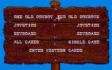 Western Games Atari ST Start menu