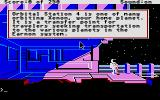 Space Quest II: Chapter II - Vohaul's Revenge Atari ST Starting location