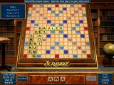 Scrabble Complete Windows Word Placement mini-game: place the given word on the board to give optimal points