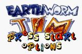 Earthworm Jim Game Boy Advance Title screen
