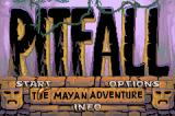 Pitfall: The Mayan Adventure Game Boy Advance Title screen