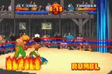 Ready 2 Rumble Boxing: Round 2 Game Boy Advance Third RUMBLE level complete, now you can knock opponents out of the ring.