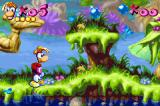 Rayman Game Boy Advance Start of the first level