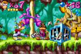 Rayman Game Boy Advance First boss