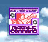 Arcade Classic 1: Asteroids / Missile Command Game Boy Game Selection (Super Game Boy)