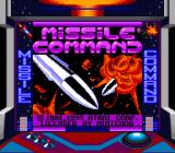 Arcade Classic 1: Asteroids / Missile Command Game Boy Missile Command (Super Game Boy)