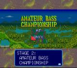 Bassin's Black Bass SNES Stage 2