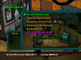 Teenage Mutant Ninja Turtles 2: Battle Nexus Windows Options menu