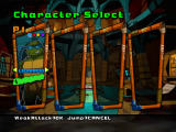 Teenage Mutant Ninja Turtles 2: Battle Nexus Windows Character selection screen