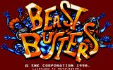 Beast Busters Amiga Title screen
