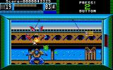 Beast Busters Amiga Shoot the bird and the zombie drops