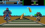 Beast Busters Amiga Section 3, end bosses throw grenades