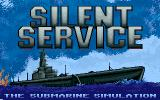 Silent Service Amiga Title screen