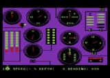 Silent Service Atari 8-bit The gauges