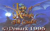 Lords of Midnight DOS The title screen