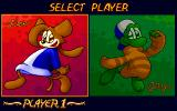Pee & Gity Special DOS Player selection