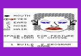 FaceMaker VIC-20 Here's a face I've built