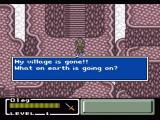 Final Fantasy: Mystic Quest SNES The beginning of the story