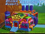 Reader Rabbit's Reading 1 Windows The title screen
