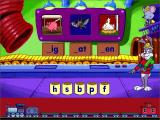 Reader Rabbit's Reading 1 Windows The Labeler - when the correct letter is chosen Reader Rabbit will hot-glue it to the word labels