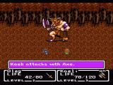 Final Fantasy: Mystic Quest SNES Boss battle