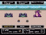 Final Fantasy: Mystic Quest SNES Nice background animation