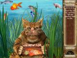 Laura Jones and the Gates of Good and Evil Windows Mini-game: catch fish and feed it to the cat.