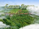 Laura Jones and the Gates of Good and Evil Windows Title screen
