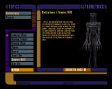 Star Trek: Voyager - Elite Force Expansion Pack Windows Information about Species 8472 in the astrometrics computer