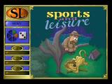 Trivial Pursuit: CD-ROM Edition Windows Sports & Leisure: the category cartoons are amusing