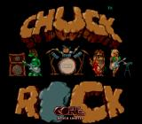 Chuck Rock SNES Title screen