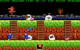 Ghosts 'N Goblins DOS Be Careful With That Plant