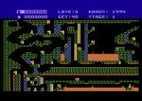 Caverns of Khafka Atari 8-bit Starting location