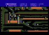 Caverns of Khafka Atari 8-bit I need to ride this boat across the lava pool.