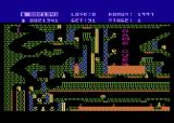 Caverns of Khafka Atari 8-bit Game over