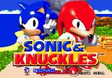 Sonic & Knuckles Genesis Title Screen