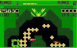 Vectron Intellivision Third level; almost complete, but some enemies destroyed parts of the base!