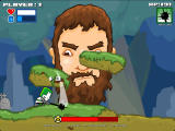 Castle Crashing: The Beard Browser A whack of three damage points using the second form.