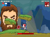 Castle Crashing: The Beard Browser Shooting magic.