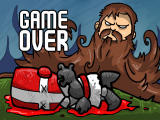 Castle Crashing: The Beard Browser Game over